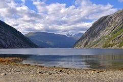fiord νορβηγικά στοκ φωτογραφία