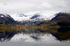 fiord νορβηγικά Στοκ Εικόνες
