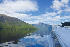 Fiord Boat Tour Stock Photography