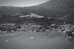 Fiord de Hardanger Imagenes de archivo