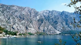 Fiord in Montenegro. Stock Images