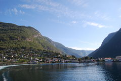 The Fiord of Norway Royalty Free Stock Images