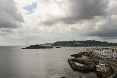 Fiord view from Hoe, Plymouth Royalty Free Stock Photos