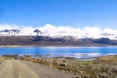 Fiorde de Islândia Imagens de Stock