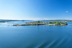 Fiorde de Oslo foto de stock royalty free