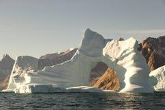 Fiorde dos iceberg - som de Scoresby - Gronelândia Fotografia de Stock