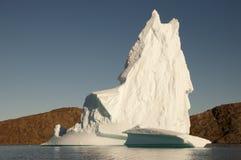 Fiorde dos iceberg - som de Scoresby - Gronelândia Fotos de Stock