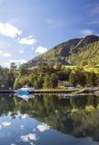 Fiorde em Noruega do sul foto de stock royalty free
