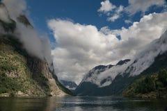 Fiorde. Noruega, Escandinávia Imagem de Stock Royalty Free