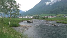 Fiordes de Noruega fotografia de stock royalty free