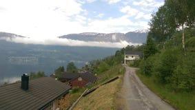 Fiordes de Noruega fotografia de stock