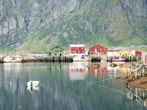 Fiordes noruegueses Fotos de Stock Royalty Free
