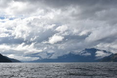 Fiordes patagonian Imagens de Stock