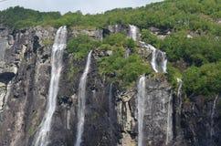 Fiordi della Norvegia Fotografia Stock