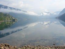 Fiordi norvegesi Fotografie Stock