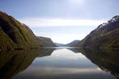 Fiordi norvegesi, Geiranger Immagini Stock Libere da Diritti