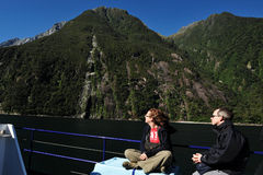 Fiordland新西兰 免版税图库摄影