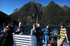 Fiordland新西兰 免版税库存照片