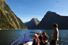 Fiordland新西兰 图库摄影