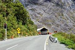 Fiordland - Homer Tunnel fotografie stock libere da diritti