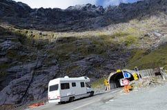 Fiordland - Homer Tunnel Imagem de Stock Royalty Free