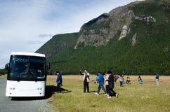 Fiordland - Homer Tunnel Royaltyfria Bilder