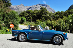 Fiordland Neuseeland Stockfotografie