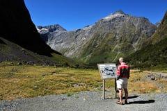 Fiordland Nueva Zelanda Fotos de archivo