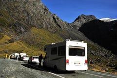 Fiordland Nya Zeeland Royaltyfria Bilder