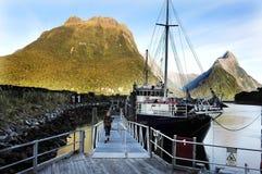 Fiordland Nya Zeeland Royaltyfria Foton
