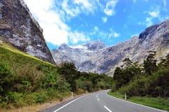 Fiordland - Nya Zeeland fotografering för bildbyråer