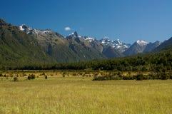 Fiordland park narodowy w Nowa Zelandia zdjęcia royalty free