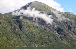 Fiordo Fotografia Stock Libera da Diritti
