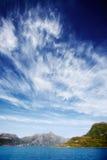 Fiordo de Noruega Foto de archivo libre de regalías