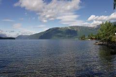 Fiordo de Norvegian Fotografía de archivo libre de regalías