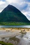 Fiordo de Norweigian Imagen de archivo libre de regalías