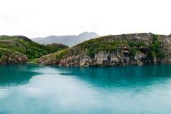 Fiordo de Norweigian Fotos de archivo libres de regalías