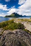 Fiordo de Norweigian Foto de archivo