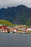 Fiordo de Norweigian Fotografía de archivo libre de regalías