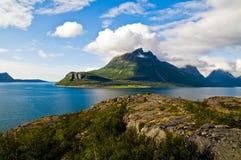 Fiordo de Norweigian Imágenes de archivo libres de regalías
