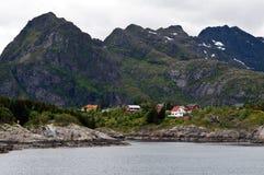 Fiordo de Norweigian Imagenes de archivo