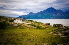 Fiordo de Norweigian Fotos de archivo