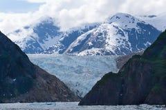 Fiordo del braccio di Tracy, ghiacciaio del Sawyer Fotografia Stock Libera da Diritti