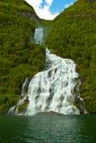 Fiordo della Norvegia Fotografia Stock