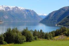 Fiordo della Norvegia Immagine Stock Libera da Diritti