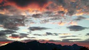 Fiordo 2016 della Norvegia Uloybukta Fotografie Stock Libere da Diritti