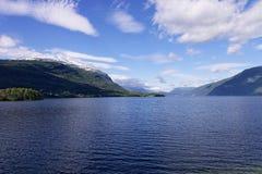 Fiordo di Norvegian Fotografia Stock