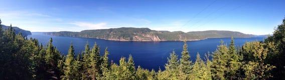 Fiordo di Saguenay Fotografia Stock
