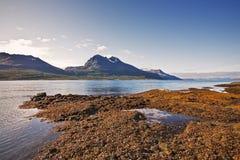 Fiordo en Noruega Fotografía de archivo
