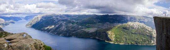 Fiordo en Noruega Imagen de archivo